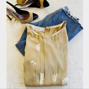 Vintage Dior silk blouse